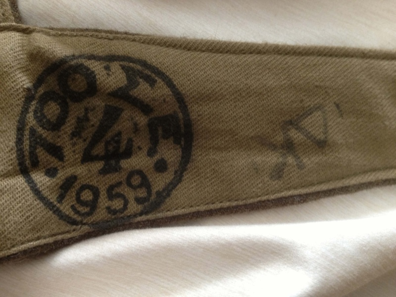 WW2 Type Woolen Battledress Blouses and Trouser,any experts on here please? Greekb10