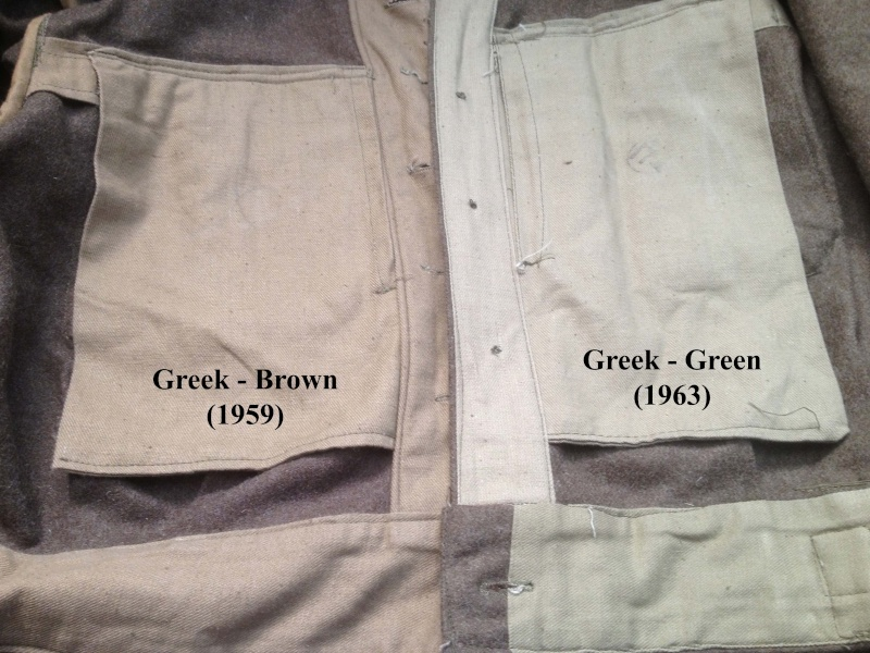 WW2 Type Woolen Battledress Blouses and Trouser,any experts on here please? Greekb12