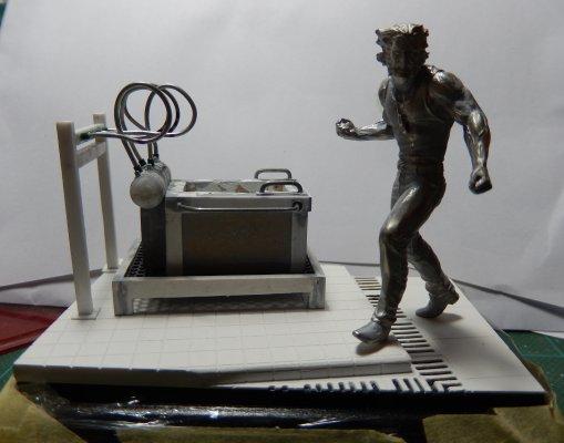 Wolverine de Knight Models, qui a enfin trouvé son décor 1610
