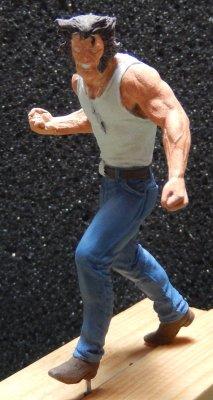 Wolverine de Knight Models, qui a enfin trouvé son décor 2110