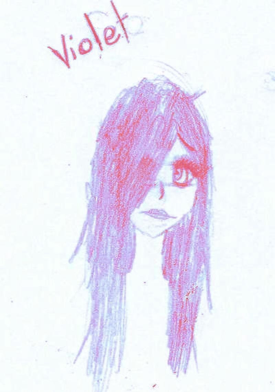 quelques dessins... Violet10