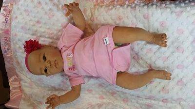 finally finished my baby  hispanic reborn doll 20140218