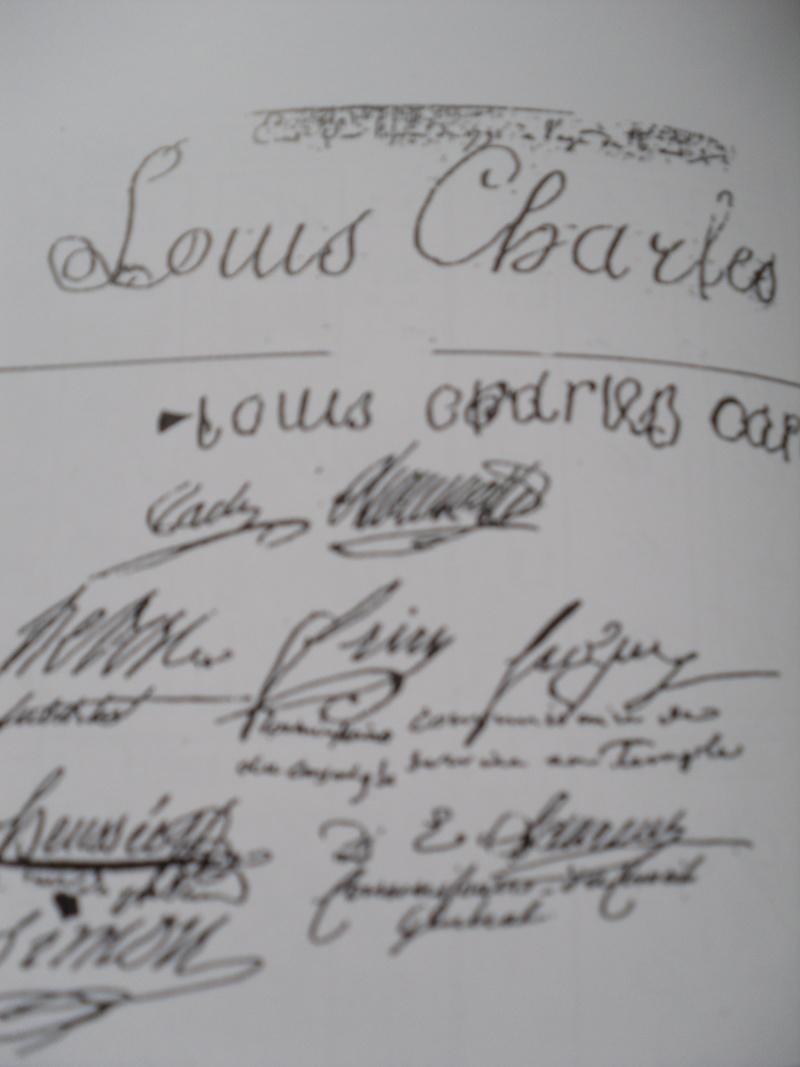Louis XVII et la piste argentine 00310