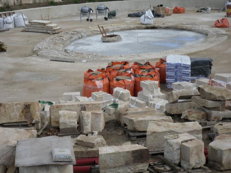 Restauration du bassin de Latone Persae97