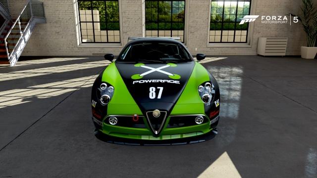 Alfa Romeo 8C Competizione 111