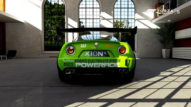 Alfa Romeo 8C Competizione 311