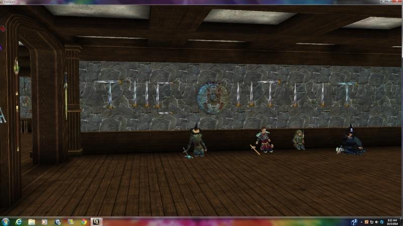 Wild & weird screenshots while logged in to EQ The_ou11