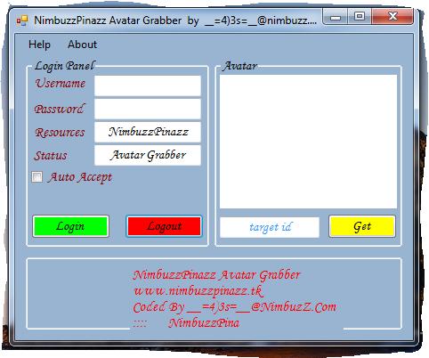 NimbuzzPinazz Avatar Grabber + Remoter  by __=4)3s=__@nimbuzz.com Avatar10