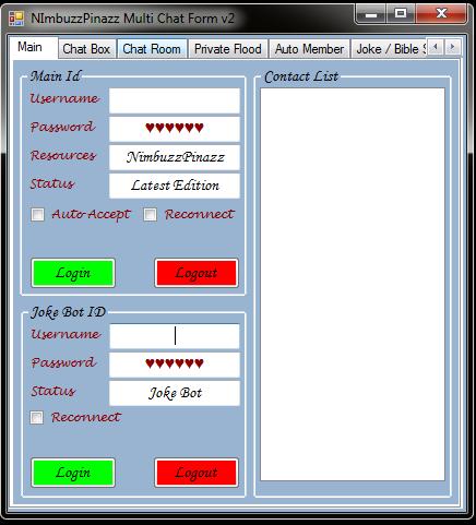 NimbuzzPinazz Multi Chat Form v1 Chatfo10