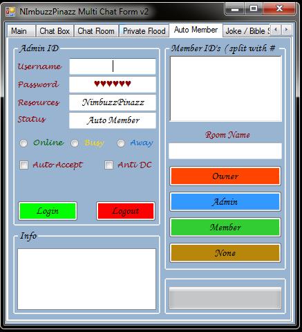 NimbuzzPinazz Multi Chat Form v1 Chatfo15