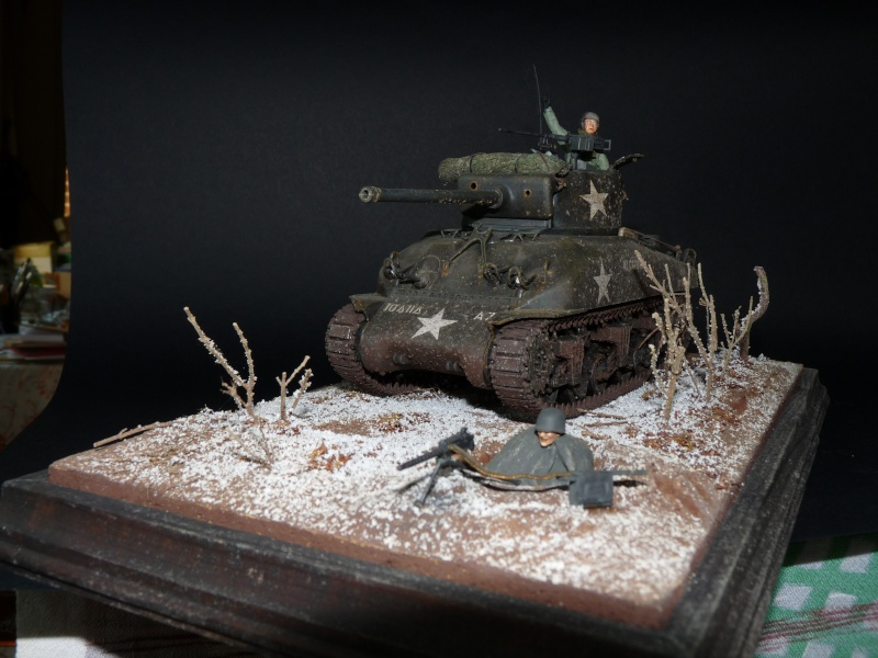 Sherman M4A1 Italeri 1/35em P1010416