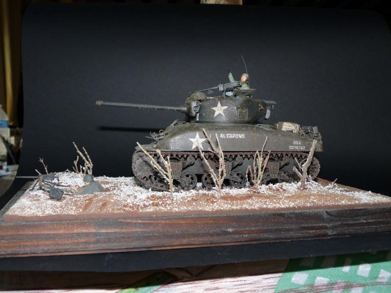 Sherman M4A1 Italeri 1/35em P1010417
