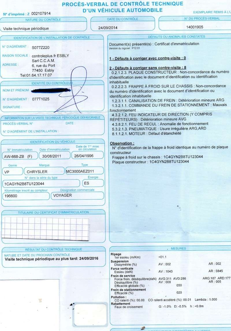 conseil achat voyager sIII 2.4 ess de 96 a 198Mk 1200€. Img00110