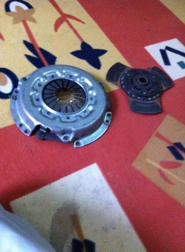 TRD clutch and disc in immaculate condtion, 10409811