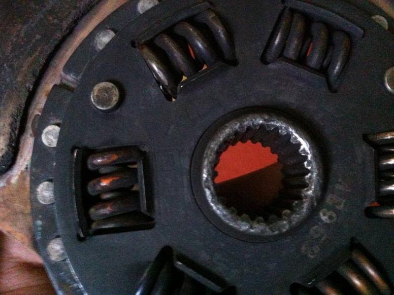 TRD clutch and disc in immaculate condtion, 10476511