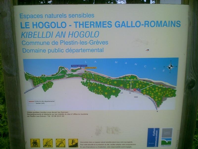 visite des thermes gallo-romaines de Plestin les grèves Dscf0210