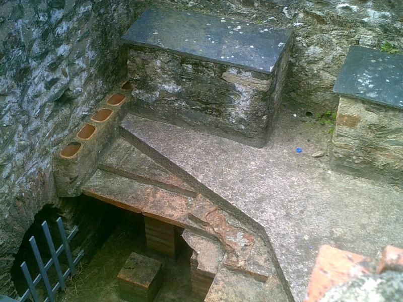 visite des thermes gallo-romaines de Plestin les grèves Dscf0217