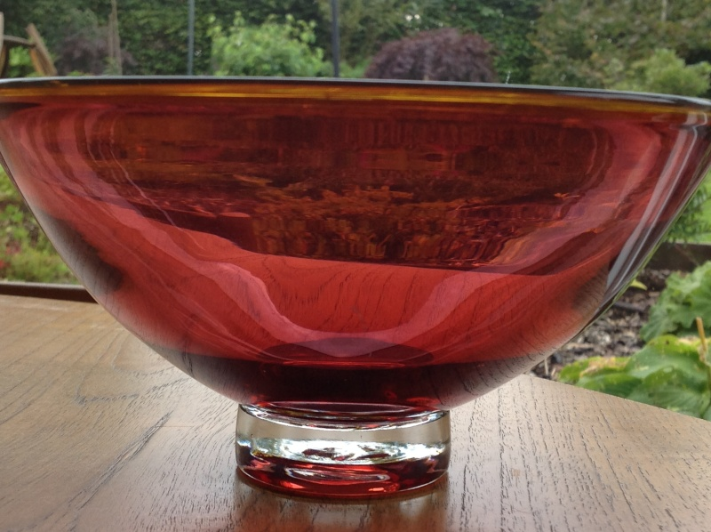 Signed bowl 2014-139