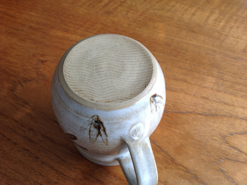 Dragonfly jug - possibly by John Parker, NZ  2014-163