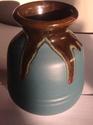 Teal drip vase MA/AM 2014-051