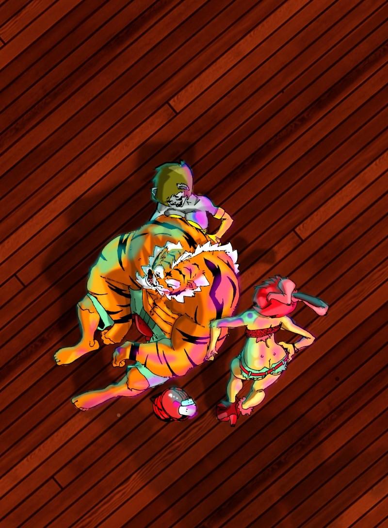 tigrou n'est plus ce qu'il était Tigre111