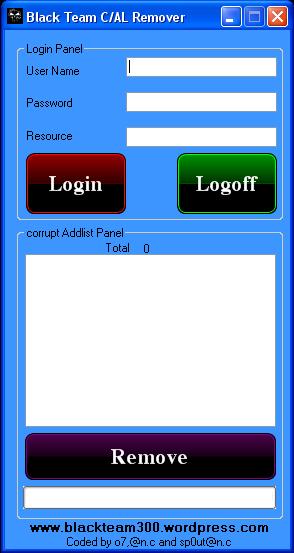 Corrupt Addlist Remover By BlackTeam Df10
