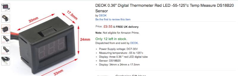 Air Temperature gauge Deok_t10