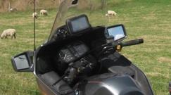 GPS mount on a naked k100 Old_gp10