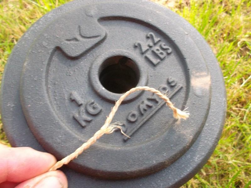 Collet primitif avec boucle fixe en liber de tilleul Sam_3815