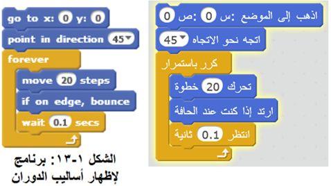 أكاديمية علوم المستقبل - للمبتدئين وللمحترفين - للصغار وللكبار - تعلم البرمجة مع برنامج سكراتش Scratch 2210