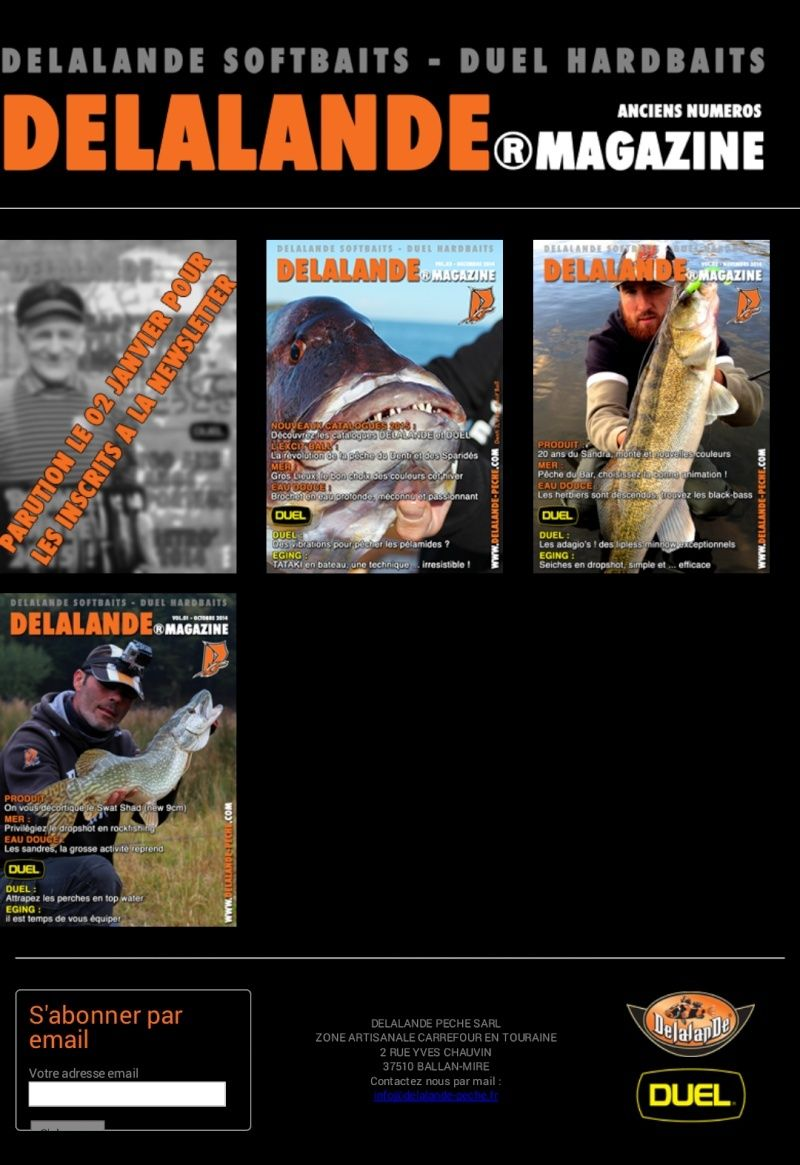 Magazine Delalande en ligne Screen26