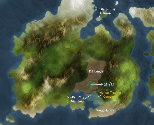 Possible World Map Contin10