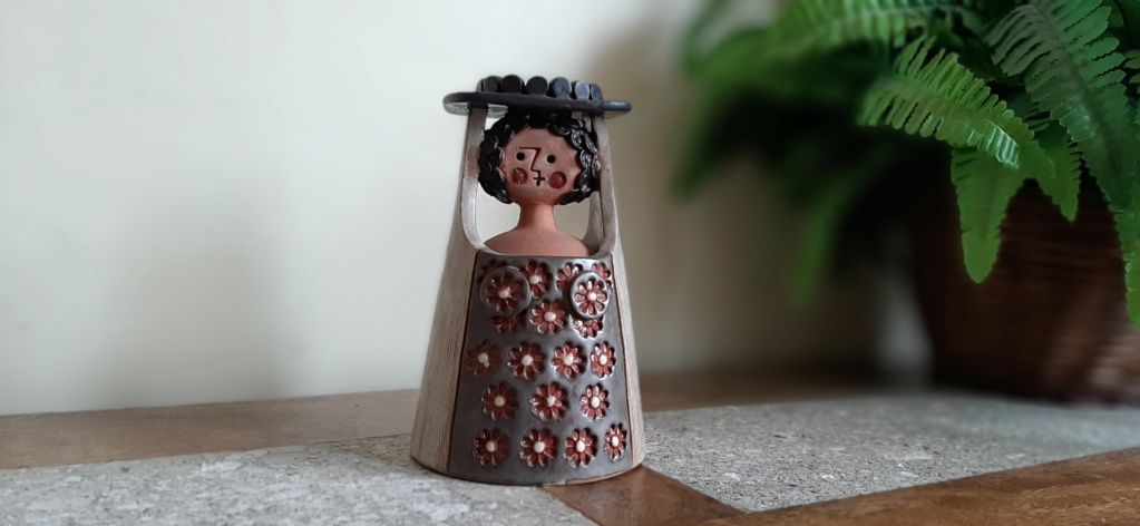 Pottery figure made in Spain 20210411