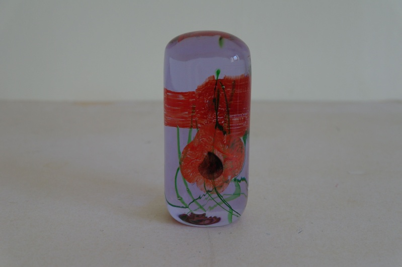 Caithness Poppies Paperweight Sam_1012