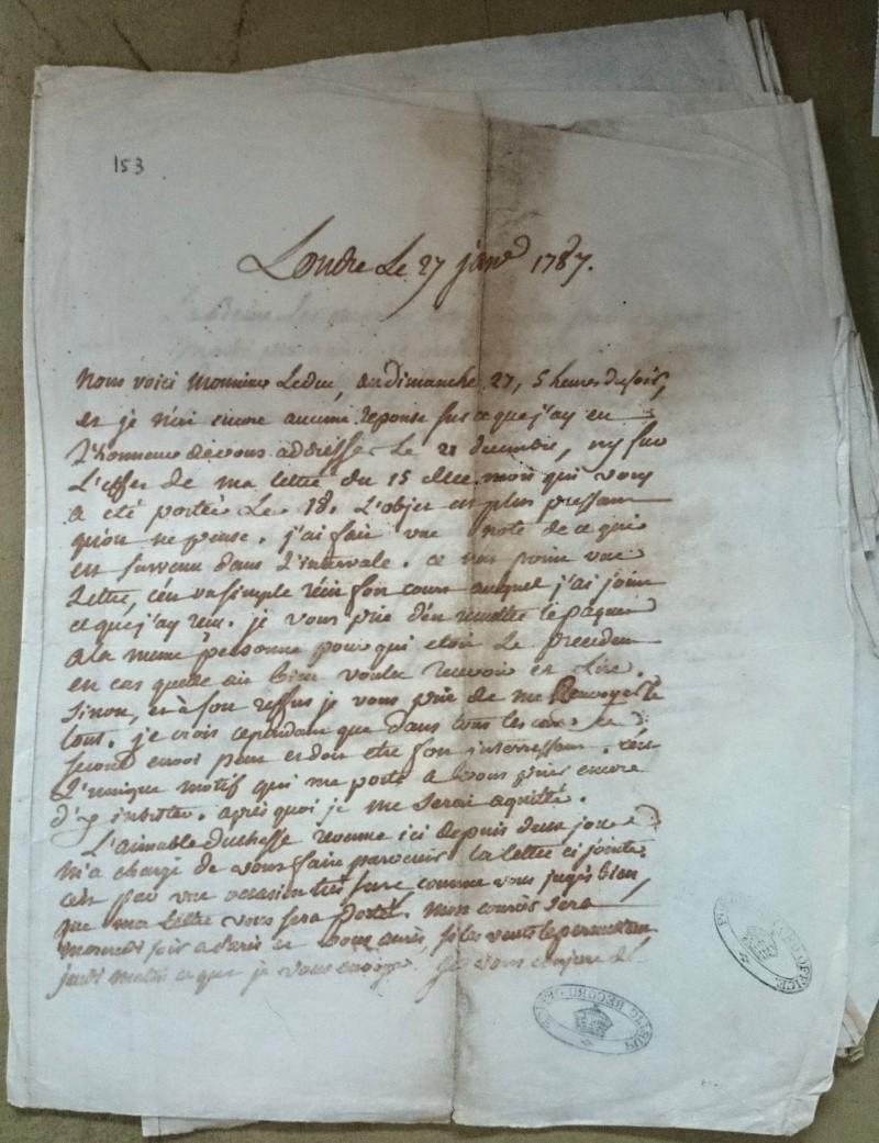 Lettre de Calonne à Jules de Polignac Calonn10