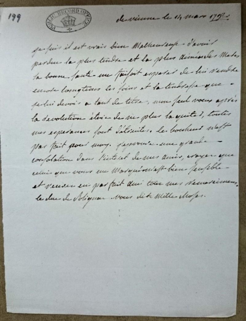 Lettres de la duchesse de Polignac à M. de Calonne Mme_de11
