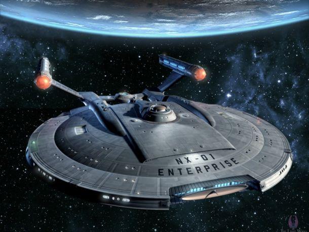 Најубавите Space Ship Enterp11