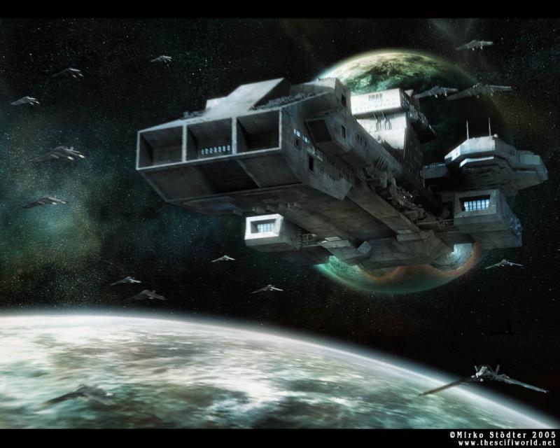 Најубавите Space Ship The_x-10