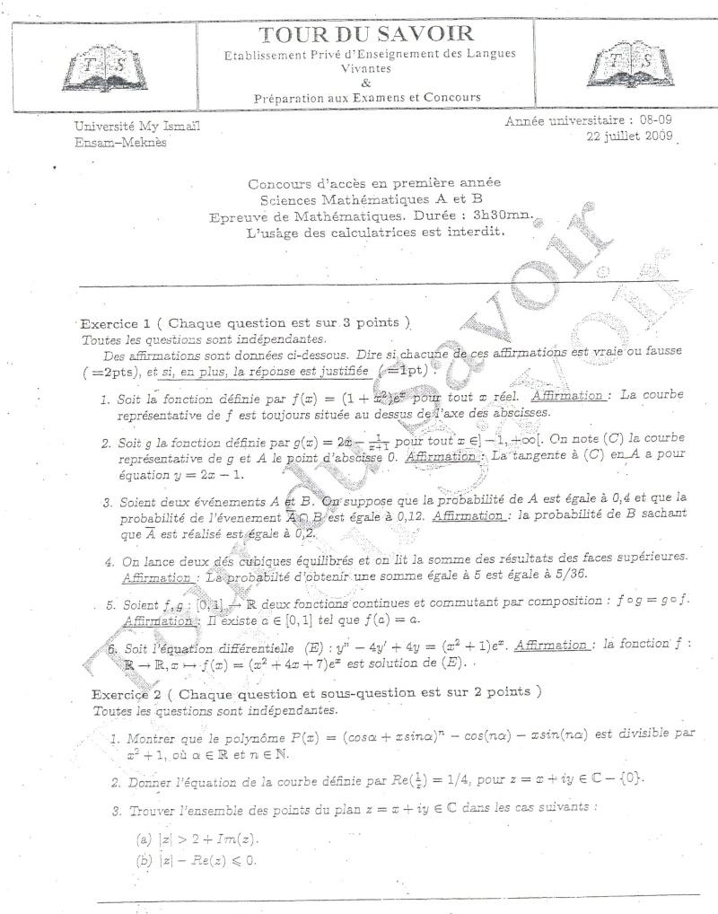 A PROPOS ENSAM Page110