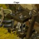 Indices Chasse aux trésors et Portail. Cage11