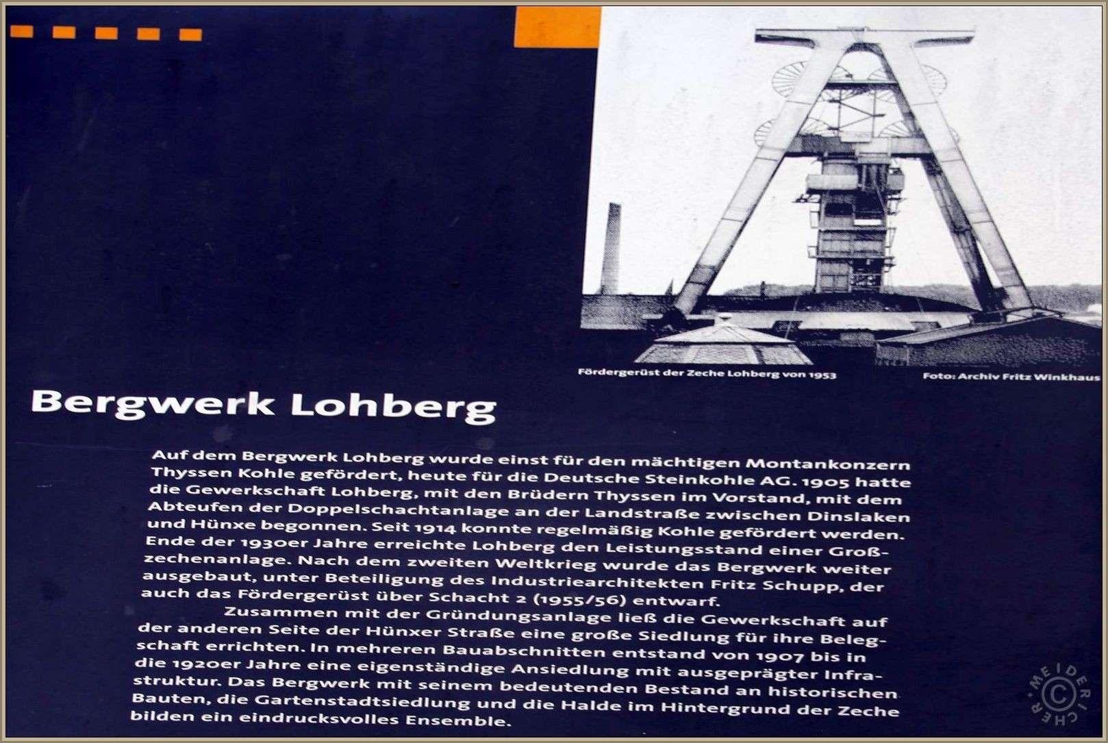 Zeche Lohberg Schacht 1 + 2 Img_8810