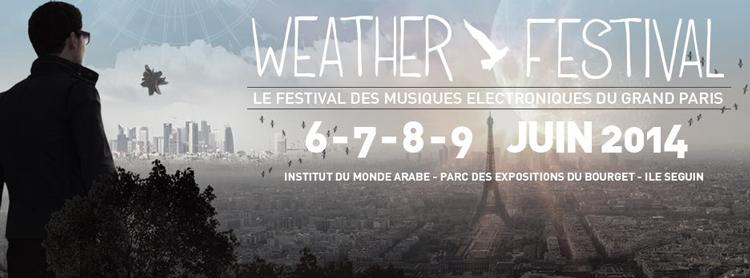 Weather Festival le 9 juin sur l'île Séguin Weathe10