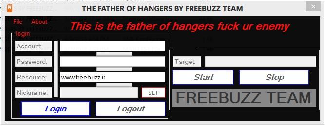 FATHER OF ADDLIST HANGER V.1 BY FREEBUZZ 111