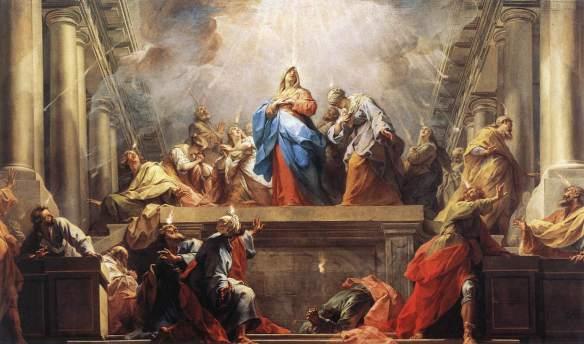 Restout Jean- la Pentecôte-musée du Louvre-aile Sully- 2eme étage 6qdj9a10