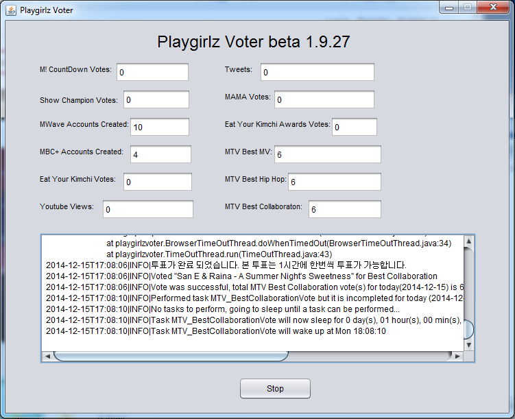 [INFO] Playgirlz Voter - Automated After School Voting and Support System Playgi14