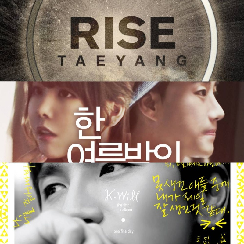 [INFO] 20140630 Taeyang, San E & Raina, and K.Will top Instiz chart for last week of June 2014 Zzzzz10