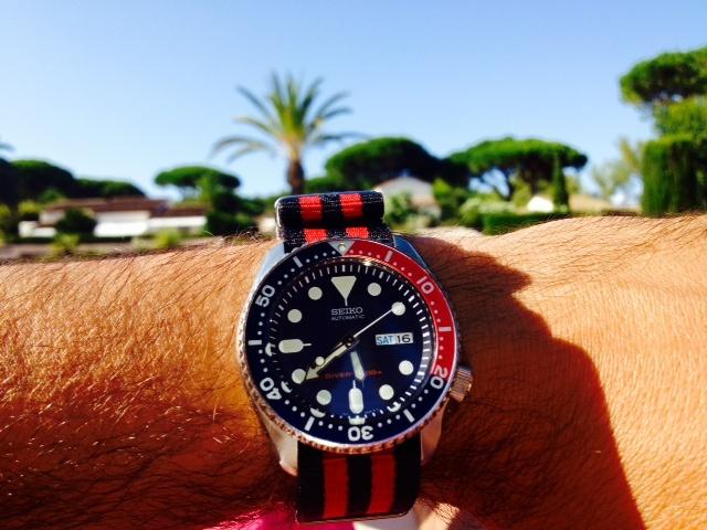 Feu de vos montres sur Nato Seiko_12