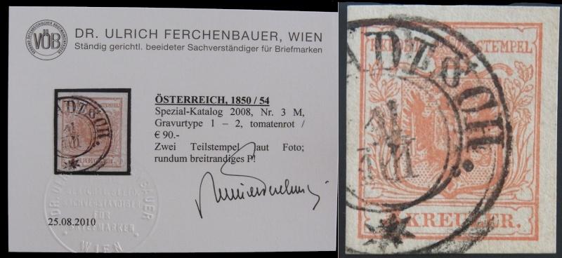 Die erste Österreichische Ausgabe 1850 - Seite 4 Ank3_g11