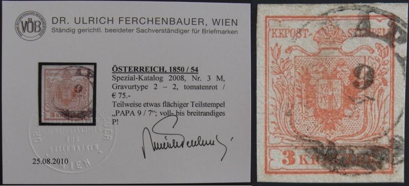 Die erste Österreichische Ausgabe 1850 - Seite 4 Ank3_g14