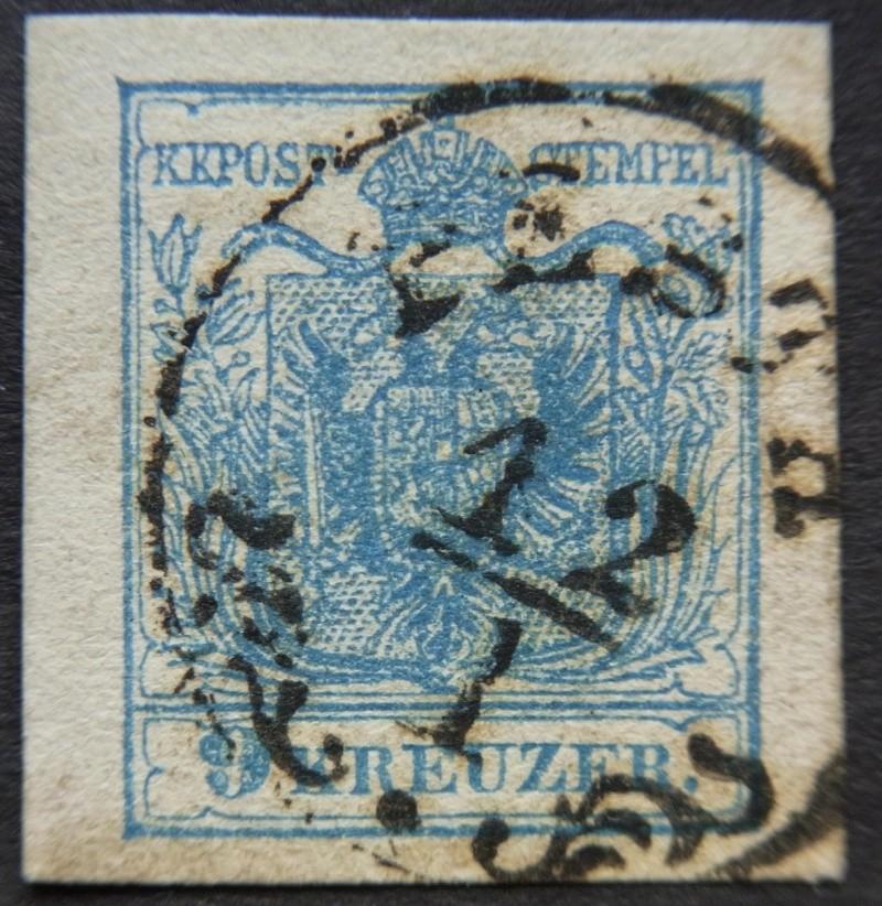 Die erste Österreichische Ausgabe 1850 - Seite 5 Ank5-m13